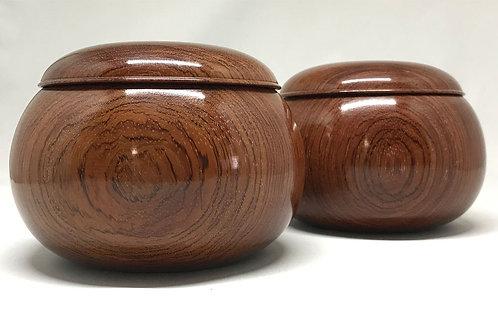 木製碁笥 新花林 特大