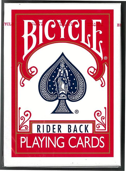 バイシクル  ポーカーサイズ 赤・青
