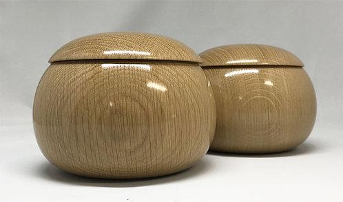 木製碁笥 楢 大