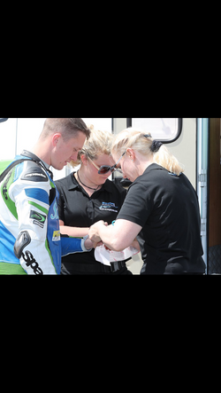 Fellside Physiotherapy Event Mobile Service; IOM TT Volunteering with Scott Physio