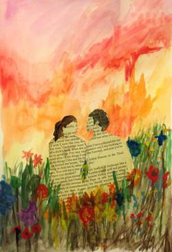 Quick Painting - 'Aime-la' (2015)