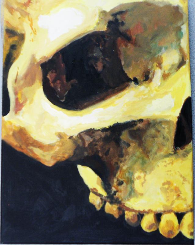 Skull for Personal Vanitas (2010)