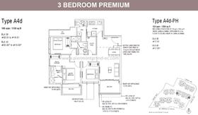 Floor Plan Piermont Grand Ec Punggol