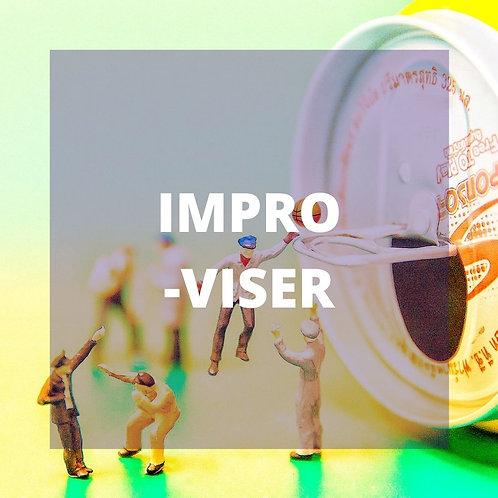 Prise de parole et improvisation (Nov. 2020- Visio Live)