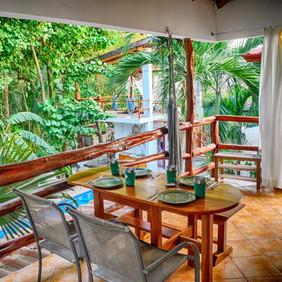 Villa Selva porch