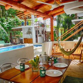 Villa Rio patio