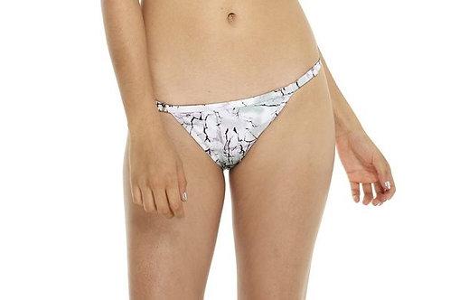Everyday Sunday Marble Adjustable String Bikini Bottom