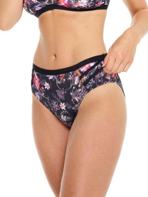 Everyday Sunday Floral High Waist Bikini Bottom