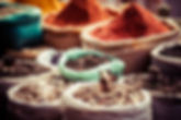 Traditional Spices in Market