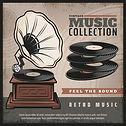 affiche-retro-gramophone-coloree-platine
