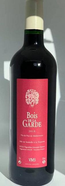 Vignobles Mousset Barrot Bois de la Garde Vin de Pays Méditerranéen Rouge