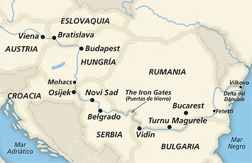 Gran crucero por el Danubio Oriental I.j