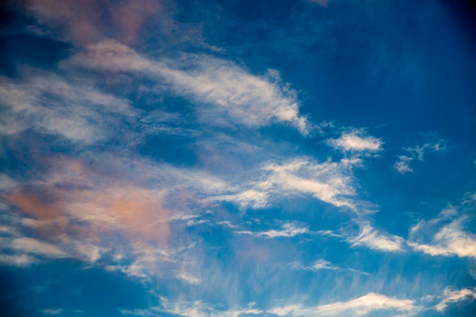 ciel de printemps