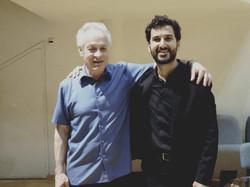 Con el Maestro Yoav Talmi