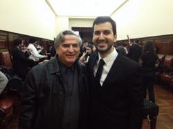 Con el Maestro Mario Benzecry