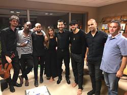 Con Idan Raichel y su banda