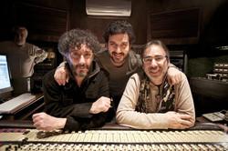 Con Fito Paez y Leo Sujatovich