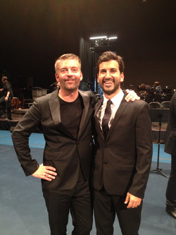 Con el Maestro Matthias Pintscher
