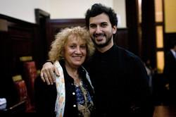 Con Carmen Pepe