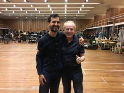 Con el Maestro Diemecke