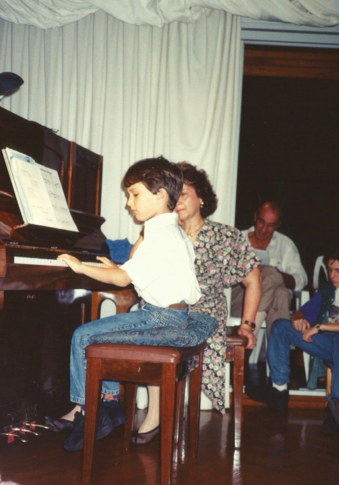 First Piano concert