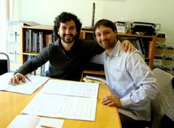 Con el Maestro Rodrigo Macias