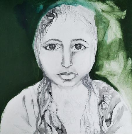 Portrait of Little Mona