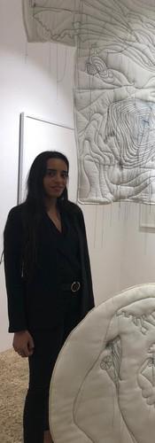 My daughter - Shoug Fardan-soft sculptures-fashion
