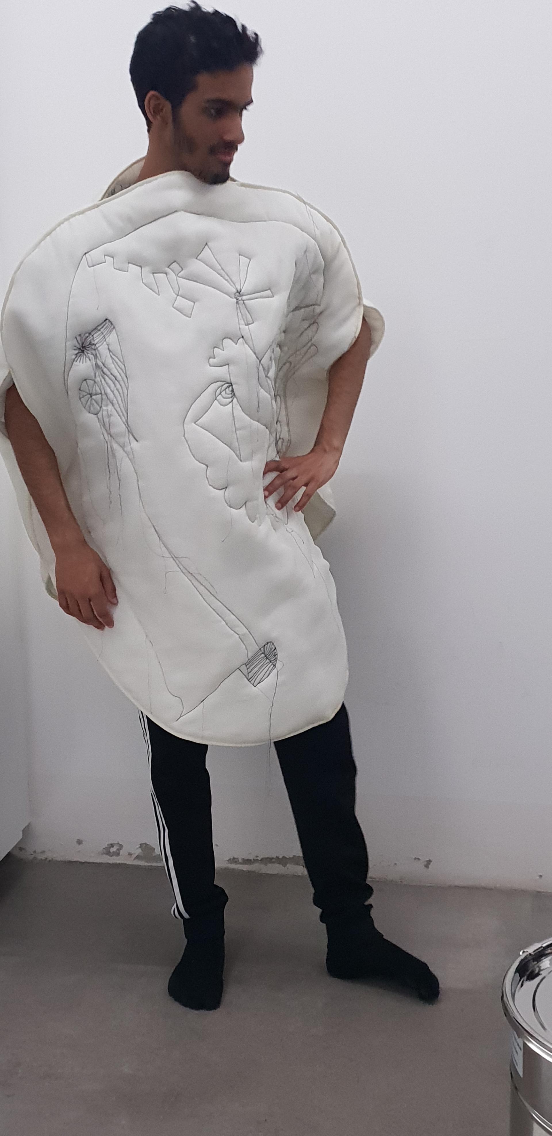 Shoug Fardan-Wearable Drawings