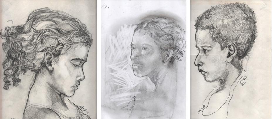 Family members portraits