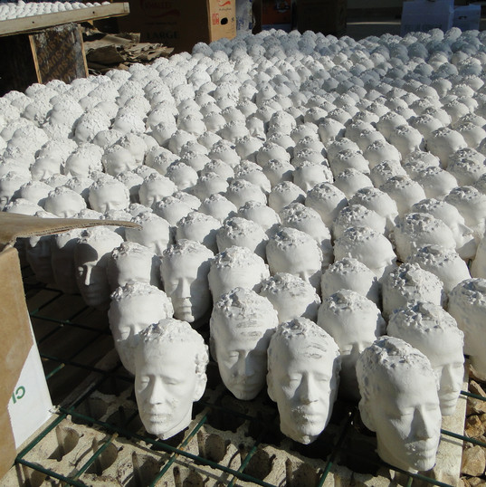 The Remain Installation Sculpture Public engagement  Performance