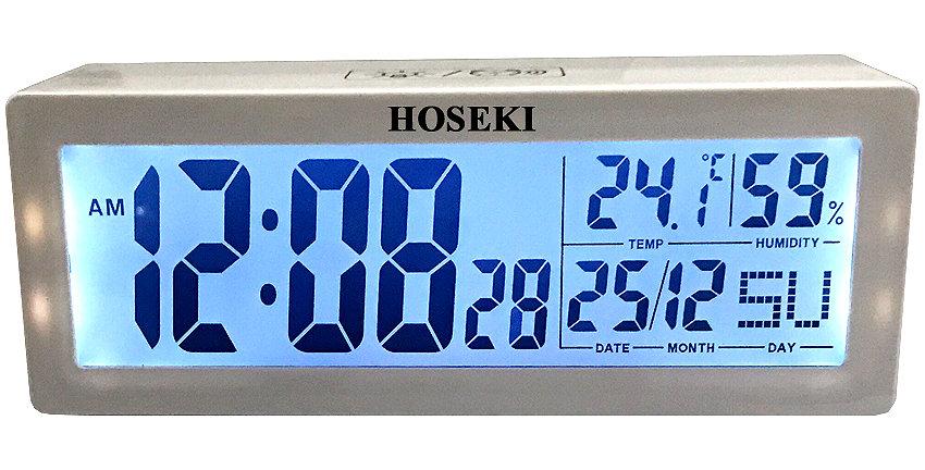 H-2220 LCD Alarm Clock