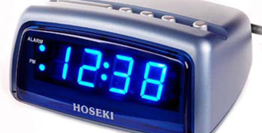 H-5010 LED Alarm Clock