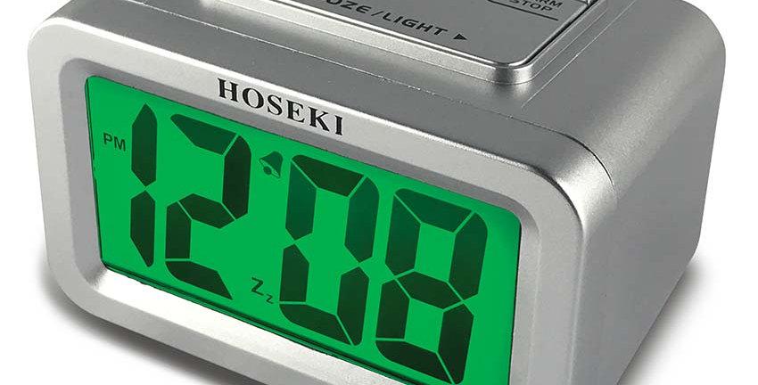 H-2190 LCD Alarm Clock