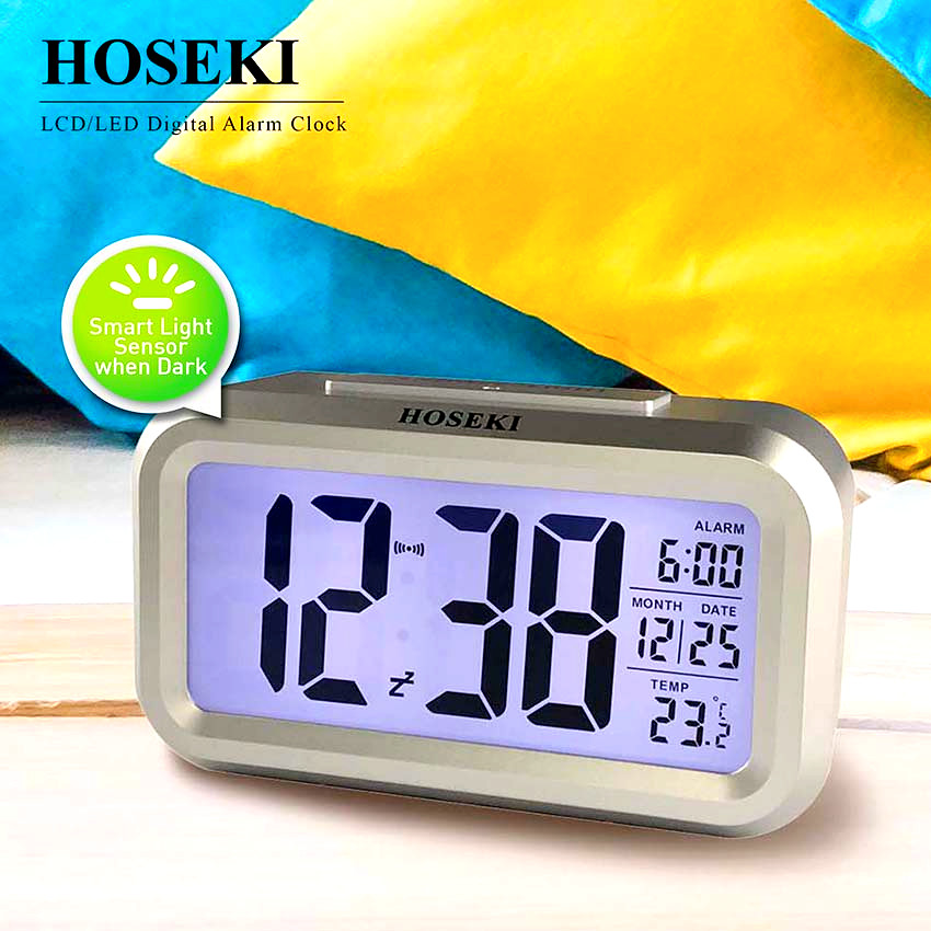 HOSEKI H-2219 Digital AlarmClock