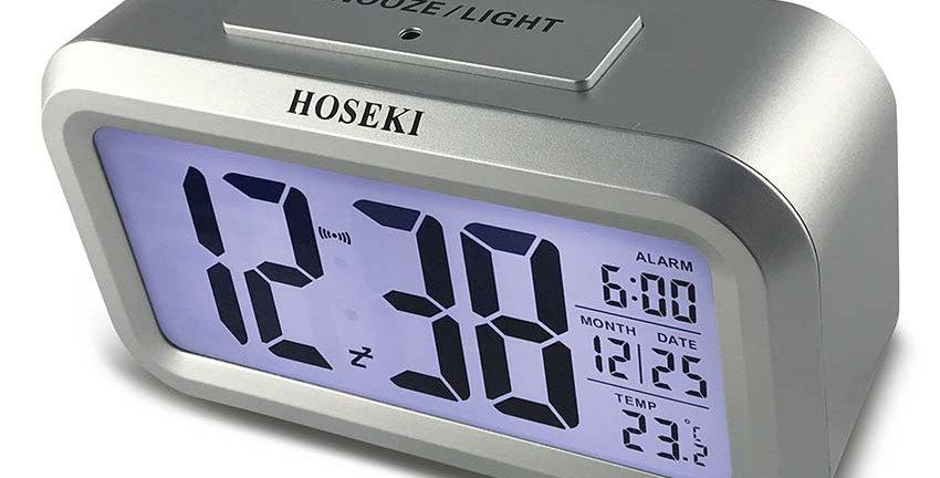H-2219 LCD Alarm Clock