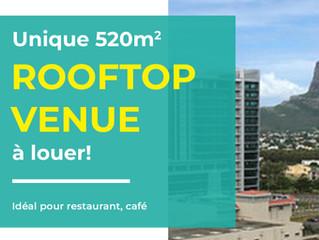 Rooftop Venue à louer
