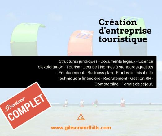 Création d'entreprise touristique