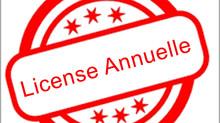 Paiement des frais d'inscription annuels