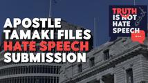 APOSTLE TAMAKI FILES HATE SPEECH SUBMISSION