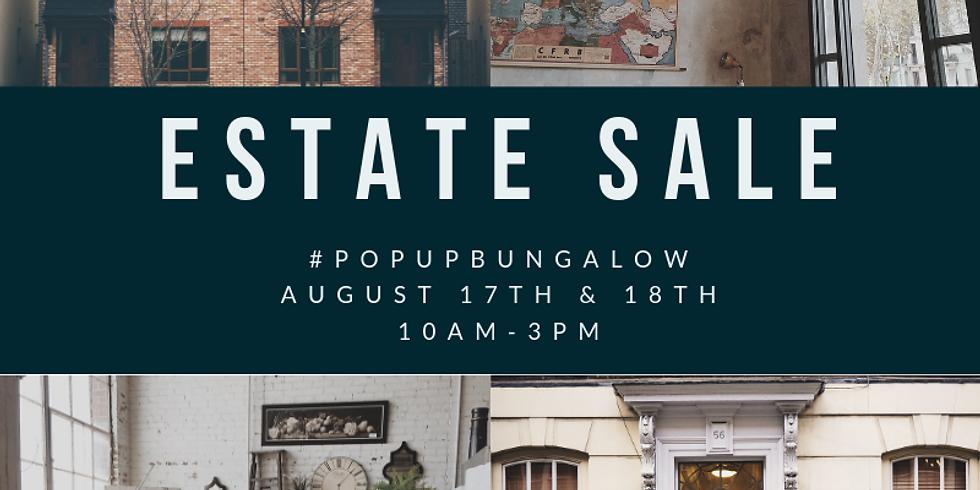 Popup Bungalow: Estate Sale