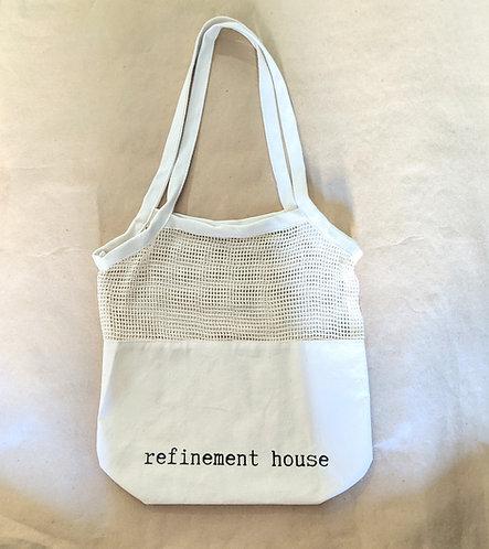 RH Tote | Canvas Mesh Bag