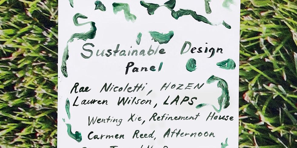 Sustainable Design Panel