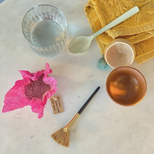 Rose Face Clay Mask