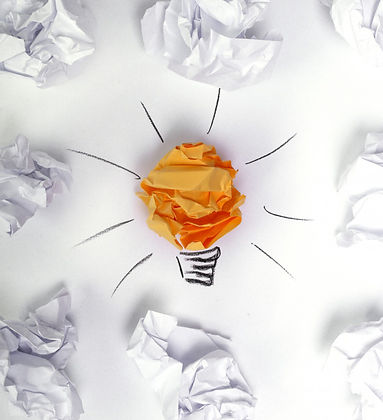 wasted-paper-ground-with-idea-bulb_14462