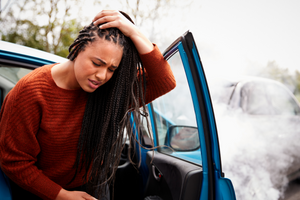 Head injury as a result of a car accident - Kemet Hunt Law Group