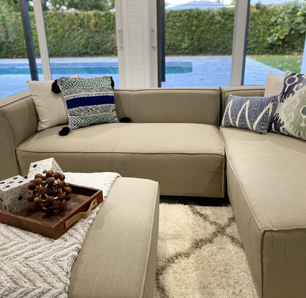 Casual Sitting Area of Master Suite