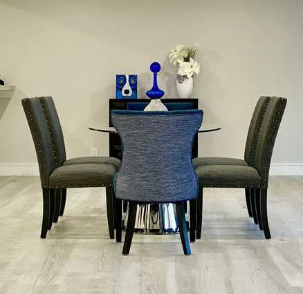 Room for a Modern & Oversized Dining Table
