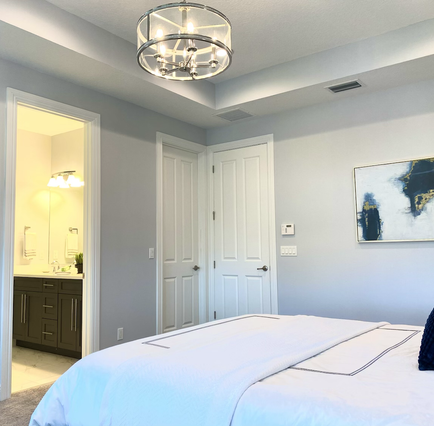 Luxe Master Suite features Tray Ceilings