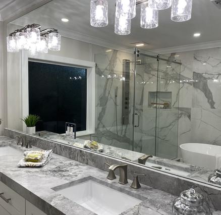 Stylish & Modern Spa Like Bath